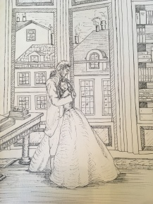 Raoul and Beth - Sketch 1